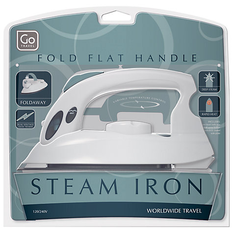 Buy Go Travel Mini Steam Iron To Go To UK Online at johnlewis.com