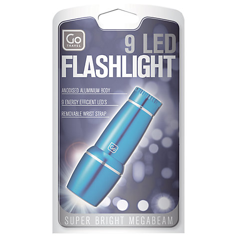 Buy Go Travel 9 LED Travel Torch Online at johnlewis.com
