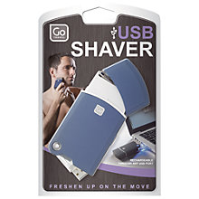 Buy Go Travel USB Shaver Online at johnlewis.com