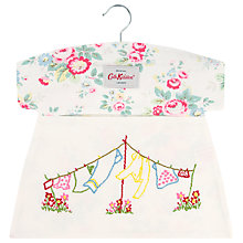 Buy Cath Kidston Cotton Peg Bag, Trailing Floral Online at johnlewis.com
