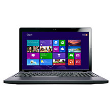 "Buy Lenovo Ideapad Z580 Laptop, Intel Core i5, 2.6GHz, 8GB RAM, 1TB, 15.6"", Grey Online at johnlewis.com"