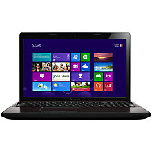 "Buy Lenovo G580I Laptop, Intel Core i3, 2.5GHz, 6GB RAM, 1TB, 15.6"", Metal Online at johnlewis.com"