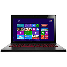"Buy Lenovo Ideapad Y500 Laptop, Intel Core i5, 2.6GHz, 8GB RAM, 1TB, 15.6"", Graphite Online at johnlewis.com"