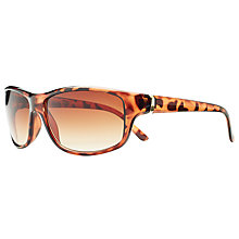 Buy John Lewis Rectangular Sunglasses, Tortoise Online at johnlewis.com