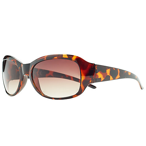 Buy John Lewis Oval Sunglasses, Tortoiseshell Online at johnlewis.com