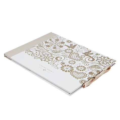 Buy K TWO Wedding Day Guest Book Online at johnlewis.com