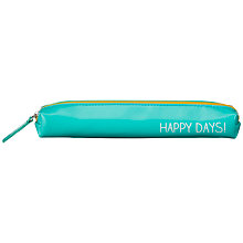 Buy Wild & Wolf Happy Jackson Small Pencil Case, Aqua Online at johnlewis.com