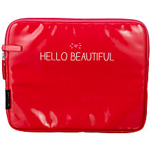 Buy Wild & Wolf Happy Jackson Tablet Case, Red Online at johnlewis.com