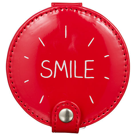 Buy Wild & Wolf Happy Jackson Compact Mirror, Red Online at johnlewis.com