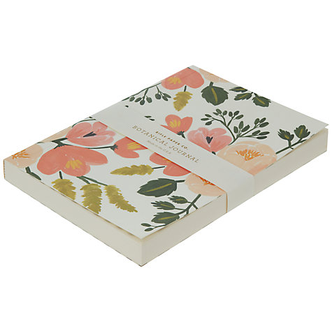 Buy Rifle Paper Co Botanical Rose Journal Online at johnlewis.com