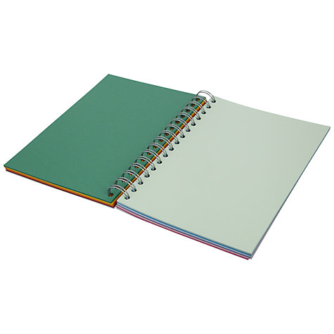 Buy John Lewis Wild Flower A5 Notebook Online at johnlewis.com