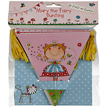 Buy Rachel Ellen Mary the Fairy Bunting, L3m Online at johnlewis.com