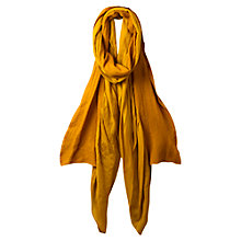 Buy East Wool Frill Scarf, Aloe Online at johnlewis.com