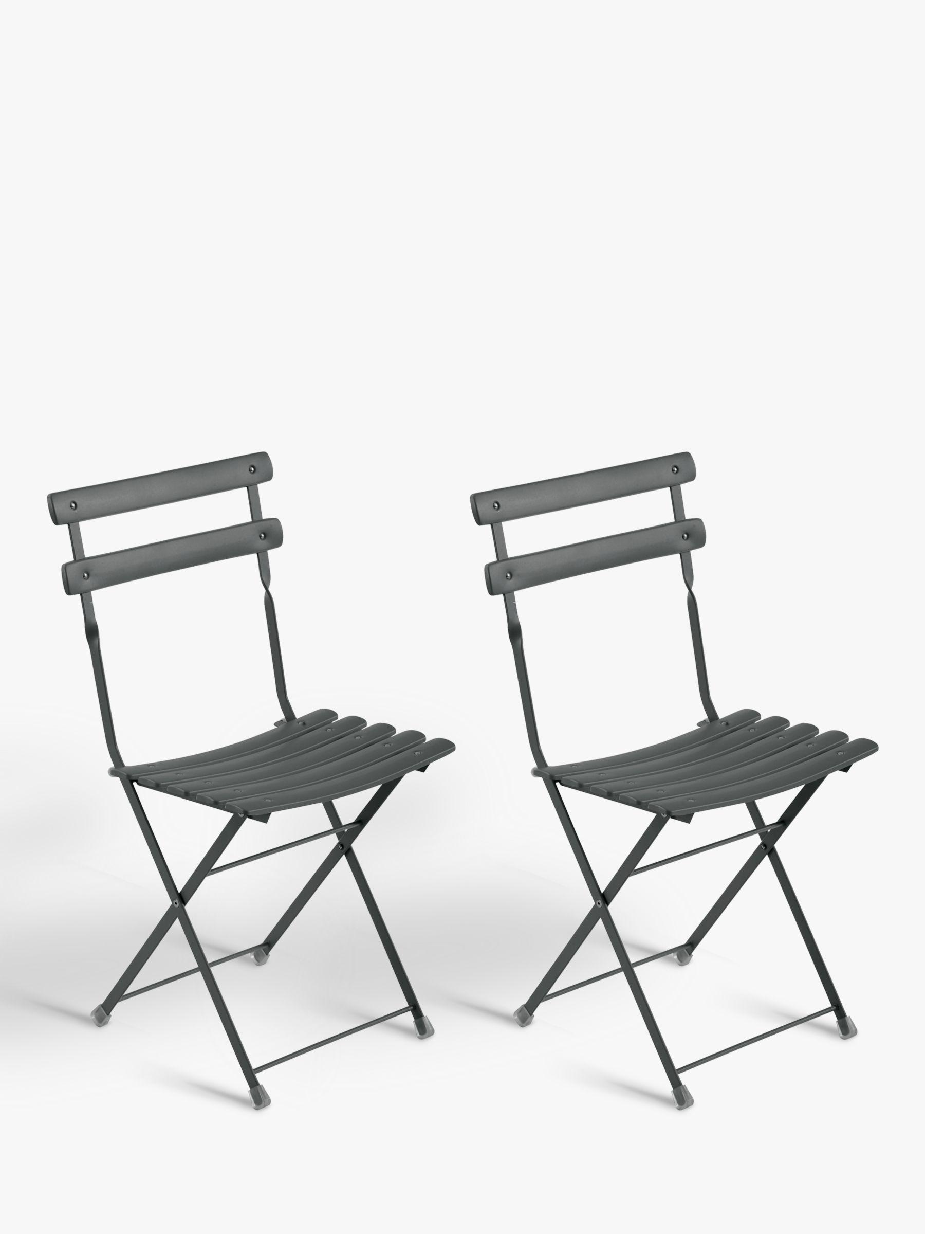 EMU Arc En Ciel Set of 2 Outdoor Chairs, Iron