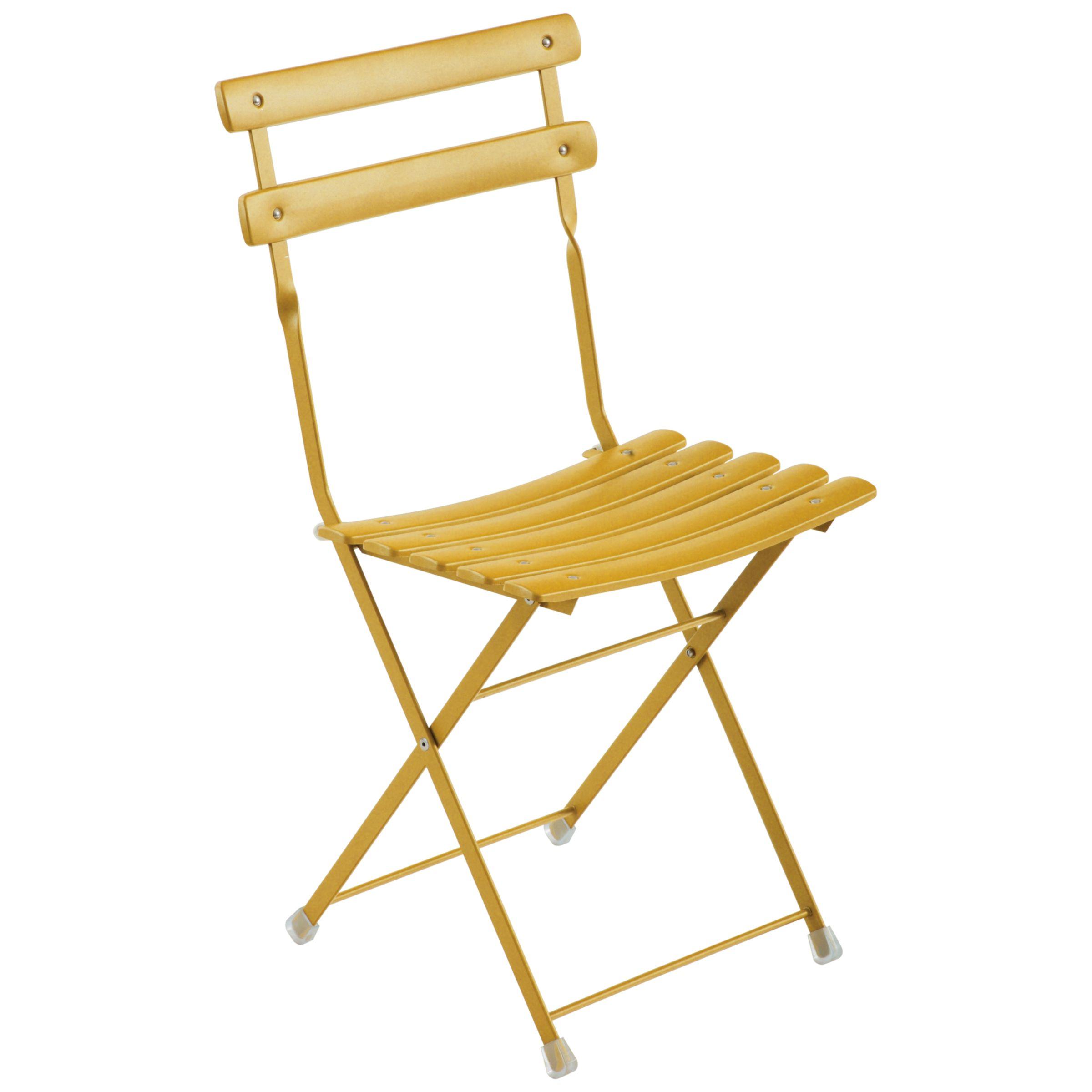 EMU Arc En Ciel Set of 2 Outdoor Chairs, Orange