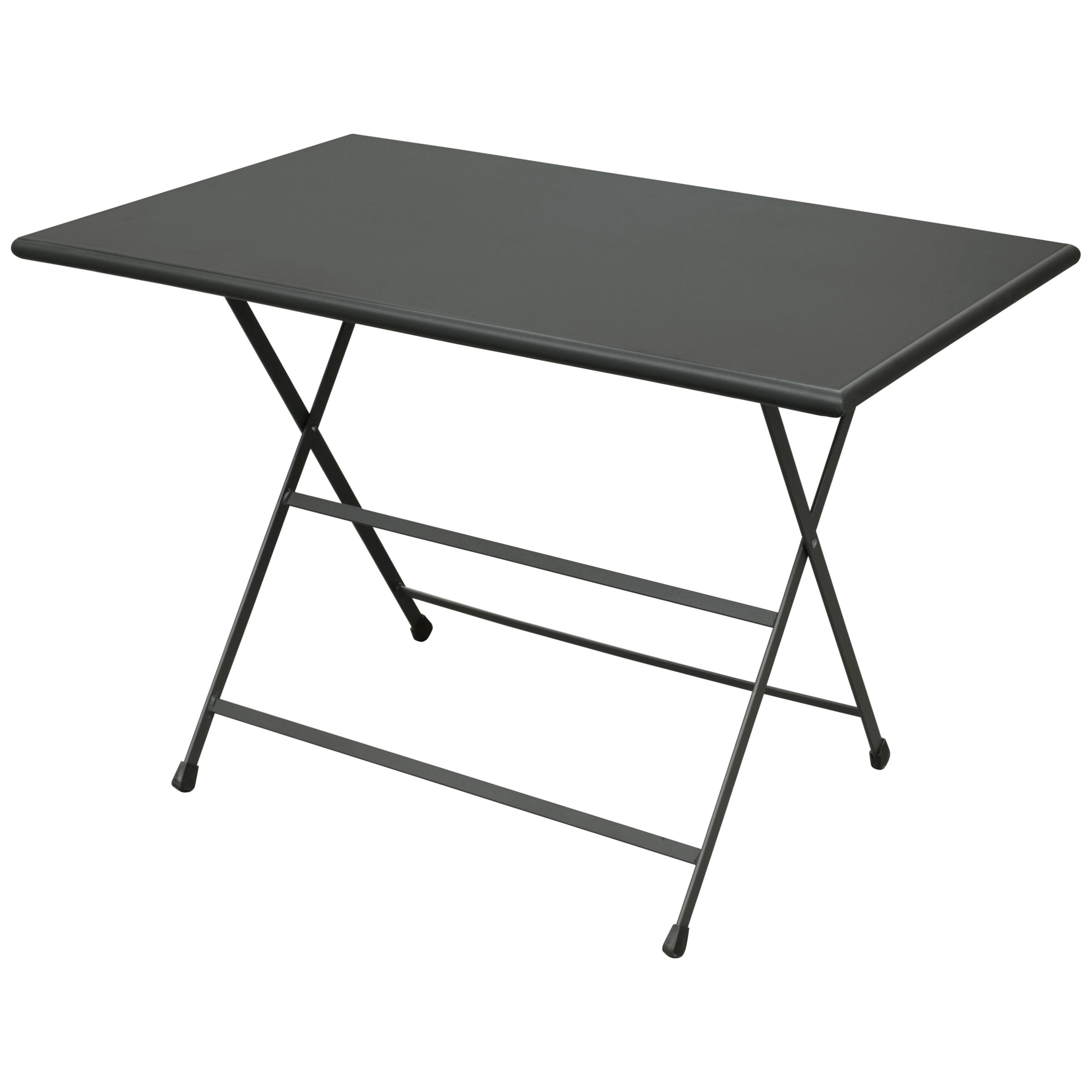 EMU Arc En Ciel Rectangular 4 Seater Outdoor Dining Table, Iron