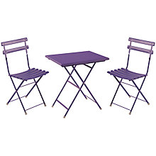 Buy EMU Arc En Ciel Aluminium Bistro Set Online at johnlewis.com