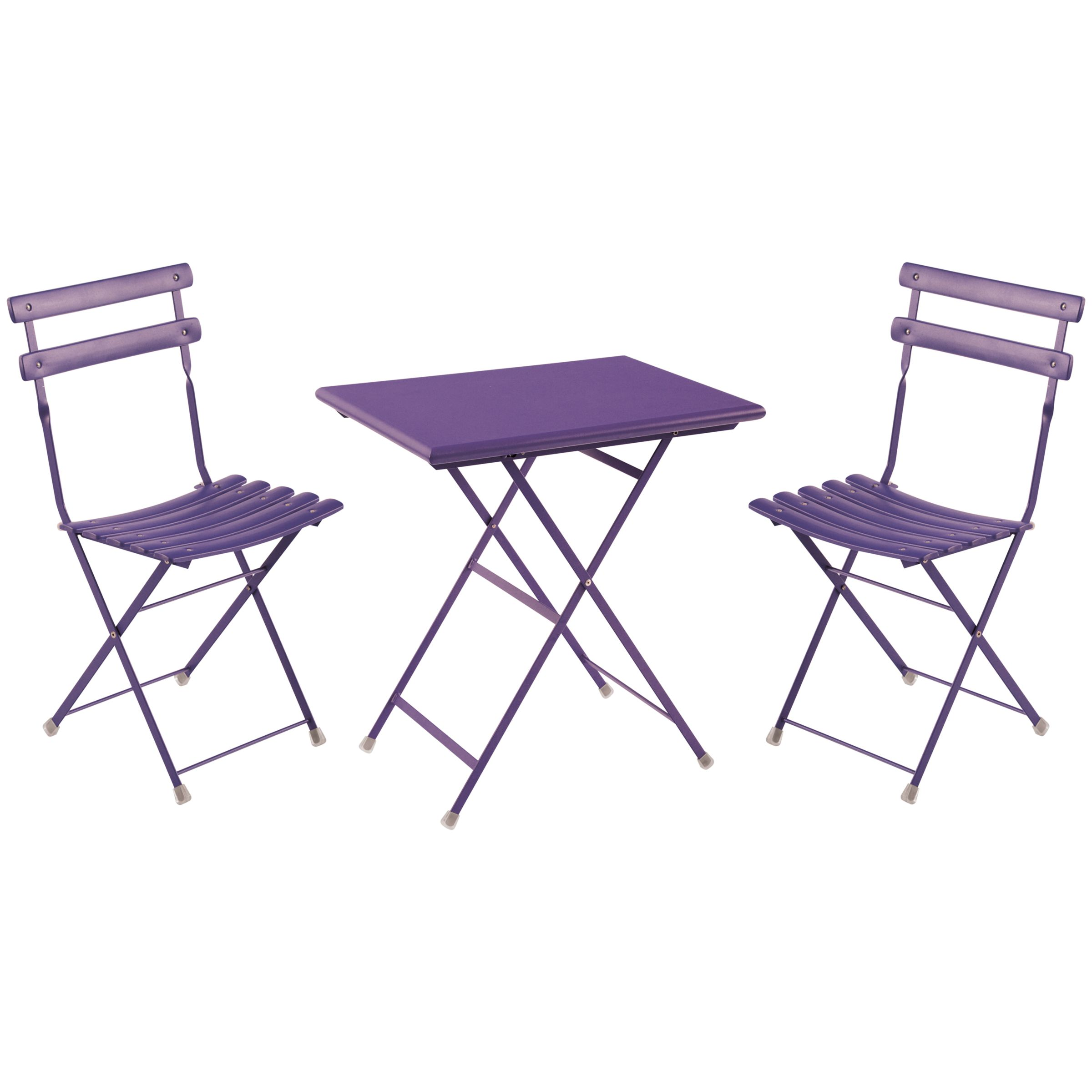 EMU Arc en Ciel 2 Seater Outdoor Bistro Set, Lilac