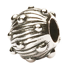 Buy Trollbeads Silver Sea Urchin Bead Online at johnlewis.com