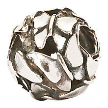 Buy Trollbeads Silver Butterfly Swarm Bead Online at johnlewis.com