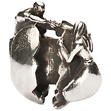 Buy Trollbeads Silver Holding Onto Love Bead Online at johnlewis.com