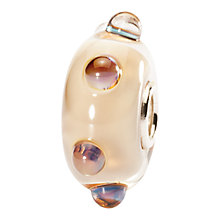 Buy Trollbeads Glass Moonstone Bead, Beige Online at johnlewis.com