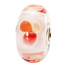 Buy Trollbeads Glass Pink Fantasy Bead, Orange Online at johnlewis.com