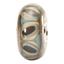 Buy Trollbeads Glass Sandstone Bead, Grey Online at johnlewis.com