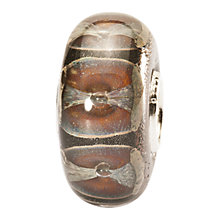 Buy Trollbeads Glass Cliffs Bead, Brown Online at johnlewis.com