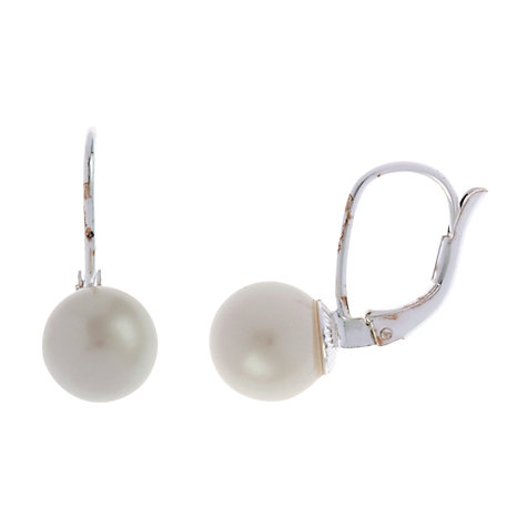 Buy Carolee Round Faux Pearl Stud Earrings Online at johnlewis.com