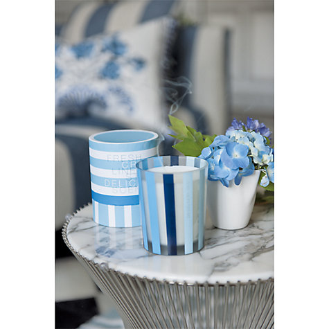 Buy Designers Guild Linen Scented Candle Online at johnlewis.com