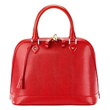 Buy Aspinal of London Hepburn Lizard Handbag Online at johnlewis.com