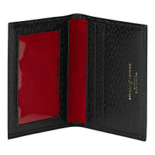 Buy Aspinal of London Leather Identification and Travel Card Case Online at johnlewis.com