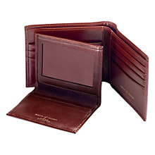 Buy Aspinal of London Large Leather ID Wallet, Cognac Online at johnlewis.com
