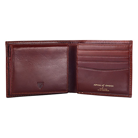 Buy Aspinal of London Large Wallet with Removable ID Sleeve Online at johnlewis.com