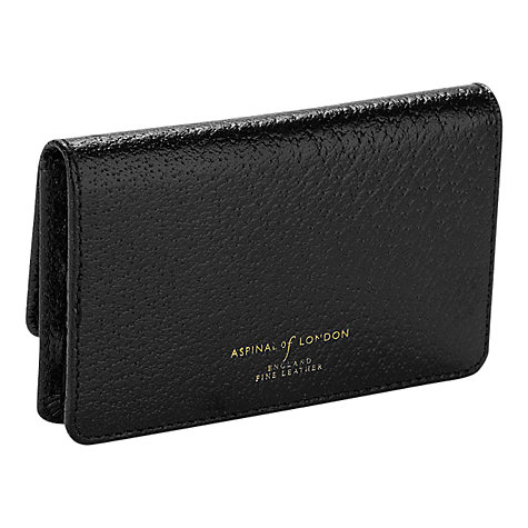 Buy Aspinal of London Leather Business and Credit Card Case Online at johnlewis.com