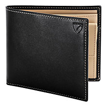 Buy Aspinal of London Coin Wallet, Black Online at johnlewis.com