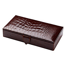 Buy Aspinal of London Cufflink Box Online at johnlewis.com