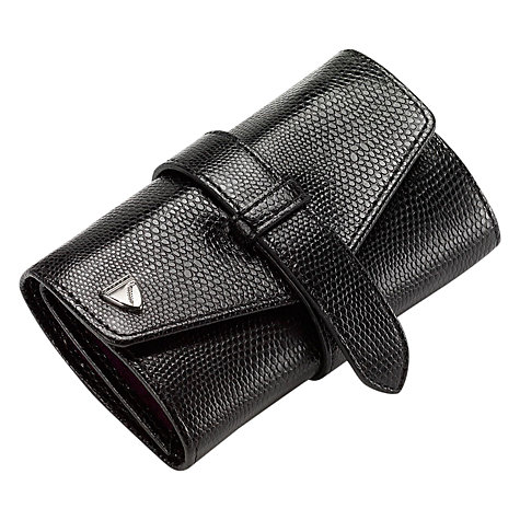 Buy Aspinal of London Travel Jewellery Roll Online at johnlewis.com