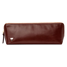 Buy Aspinal of London Men's Travel Toiletry Pack, Cognac Online at johnlewis.com