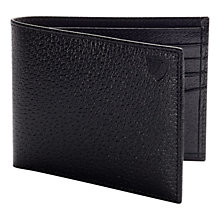 Buy Aspinal of London Classic Billfold Wallet, Black Online at johnlewis.com