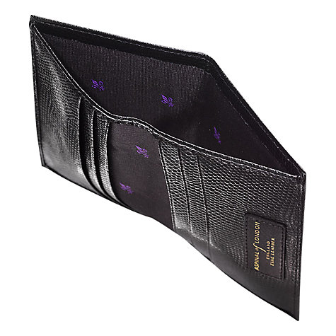 Buy Aspinal of London Leather Double Fold Credit Card Case Online at johnlewis.com