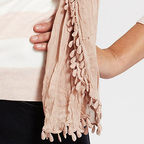 Buy Mint Velvet Teardrop Trim Scarf Online at johnlewis.com