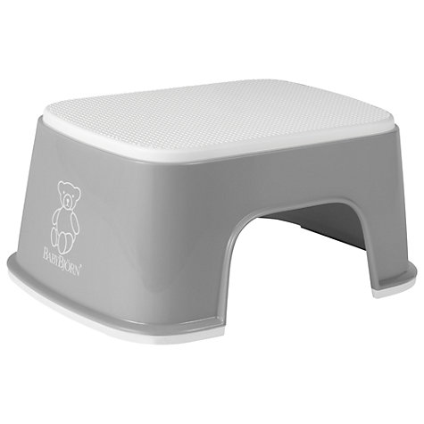 Buy BabyBjörn Safe Step, Grey Online at johnlewis.com