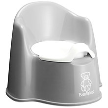 Buy Baby Bjorn Potty Chair, Grey Online at johnlewis.com