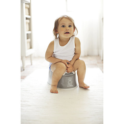 Buy BabyBjörn Potty Chair, Grey Online at johnlewis.com