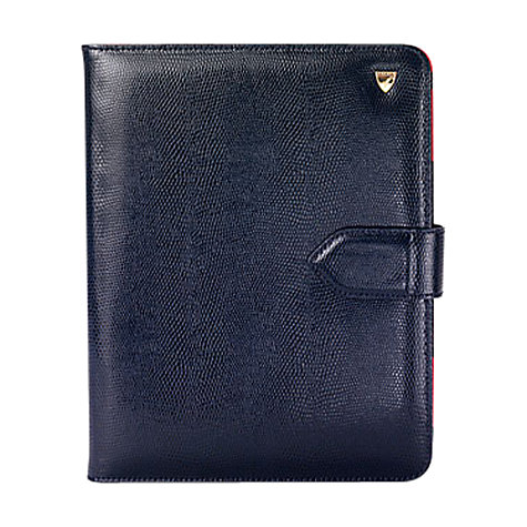 Buy Aspinal of London Leather Stand-Up iPad2 Cover Online at johnlewis.com
