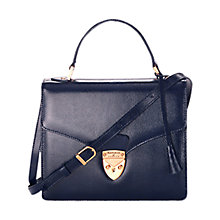 Buy Aspinal of London Mayfair Leather Satchel Handbag Online at johnlewis.com