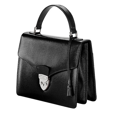 Buy Aspinal of London Mayfair Satchel Handbag Online at johnlewis.com