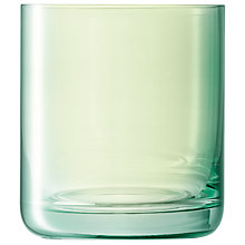 Buy LSA Polka Vase, H18cm, Green Online at johnlewis.com